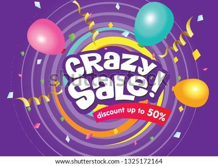 Crazy Sale banner