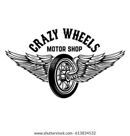 crazy wheels. motorcycle wheel...