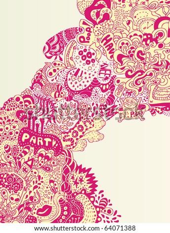 crazzy psychedelic doodle