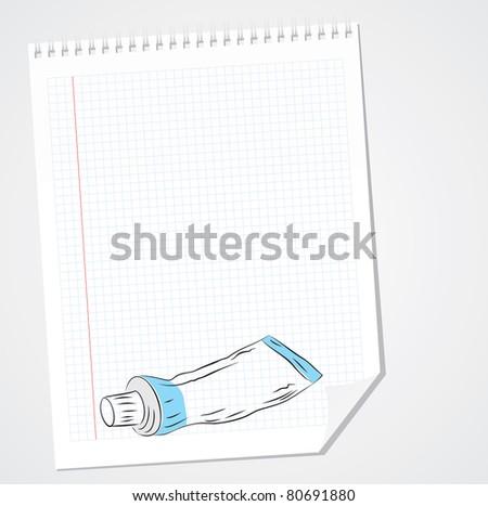 Cream Vector Doodle