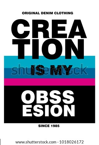 creation is my obssesion t