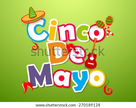 creative abstract for cinco de
