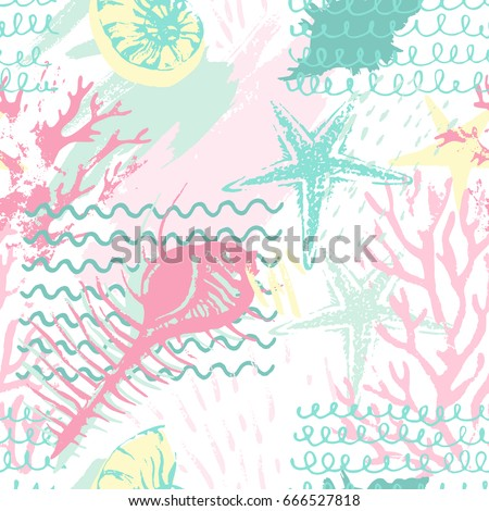 creative abstract marine