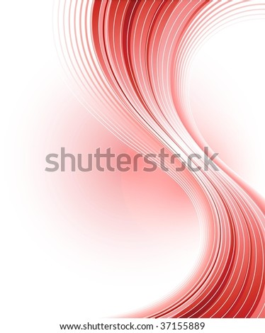 Creative abstract red background