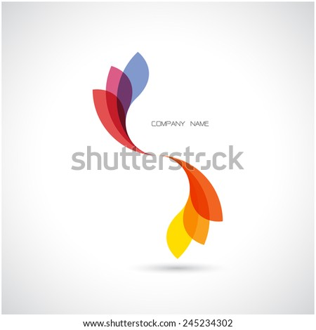 creative abstract vector logo