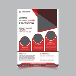 Creative And Modern Corporate Business Flyer Poster Template