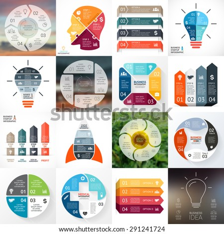 creative arrows infographic