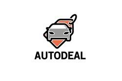 Creative Auto Tag Label Logo Design Illustration