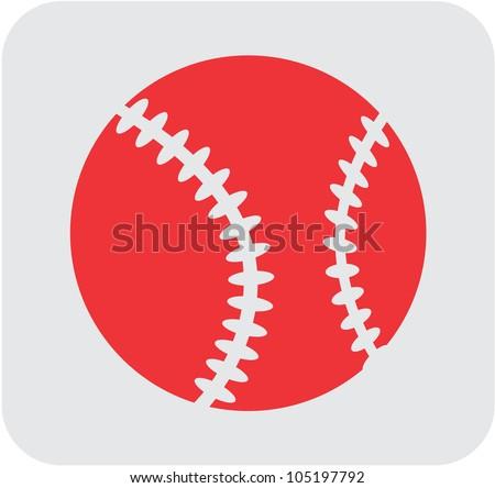 Creative Baseball Icon
