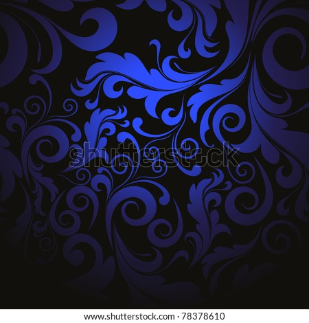 creative beautiful filigree pattern background, vector illustration