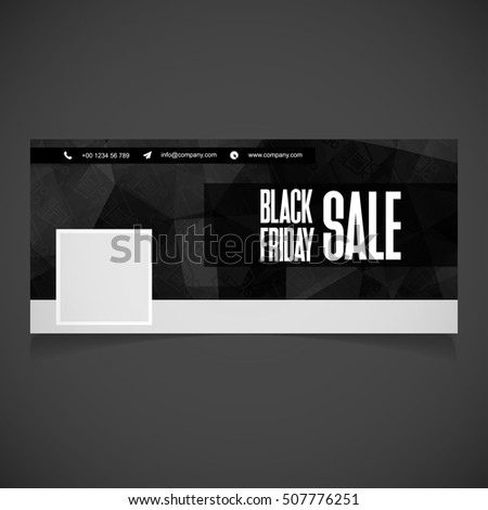 creative black friday banner