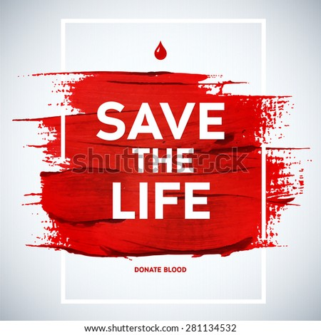 creative blood donor day save