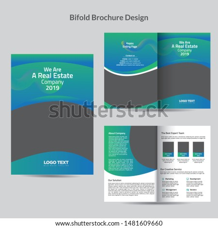Creative Brochure templates with vector design