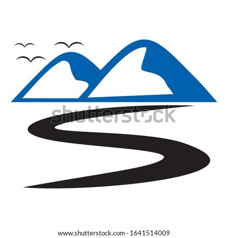 Creative BS logo design for financial business companies, technology companies