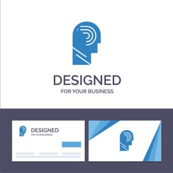 Creative Business Card and Logo template Access, Human, Manipulate, Mind, Switch Vector Illustration. Vector Icon Template background