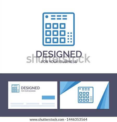 creative business card and logo