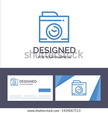 creative business card and logo