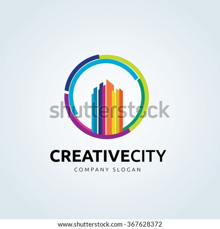 Creative City Real Estate Logo Template