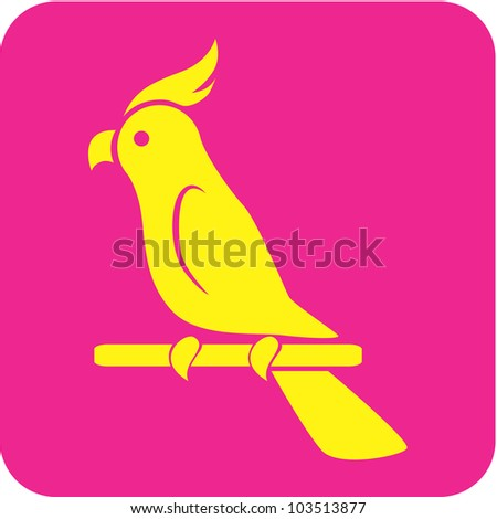 Creative Cockatoo Parrot Icon