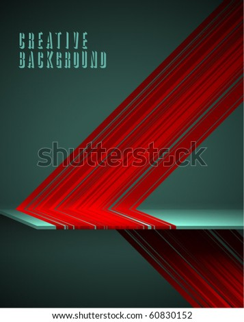 Creative colorful background - stock vector