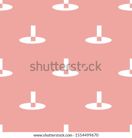 Creative colorful modern pattern texture with different shapes. Ikea style pink background.