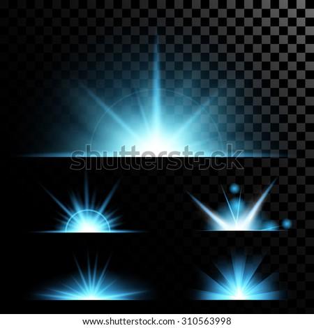 creative concept vector set of