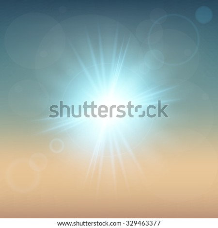 Creative concept Vector set of glow light effect stars bursts with sparkles isolated on black background. For illustration template art design, banner for Christmas celebrate, magic flash energy ray. #329463377