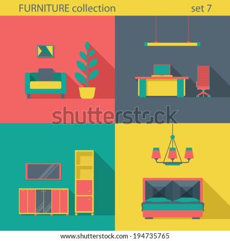Interior Design Furniture Icons