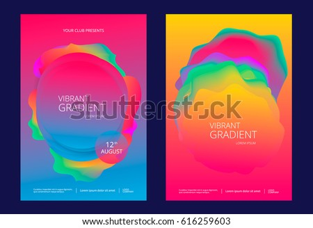 creative design poster with