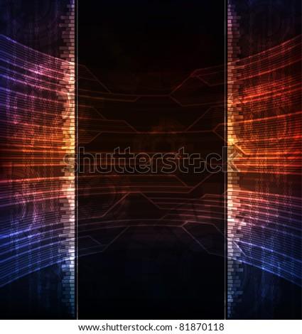 Creative design vector banner. Eps10 layered vector file.