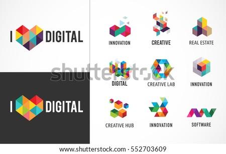 creative  digital abstract