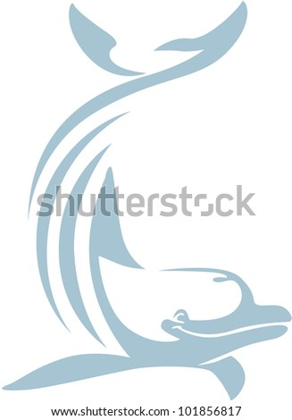 Creative Dolphin Illustration