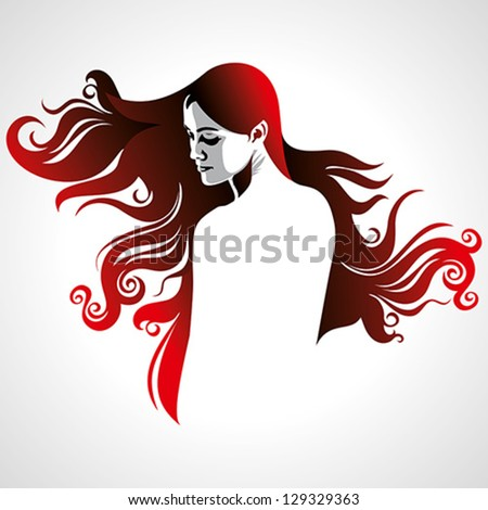 creative fashion women portrait