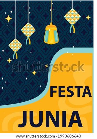creative Festa junia element design