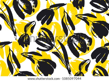 creative flower pattern