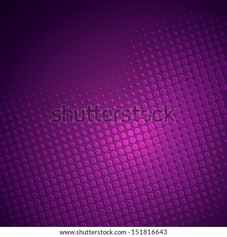 creative halftone background vector - Shutterstock ID 151816643