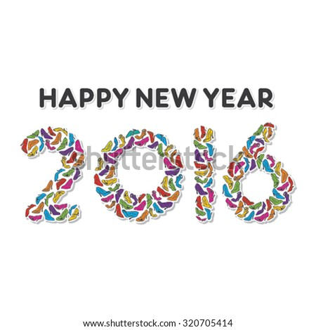 creative happy new year 2016