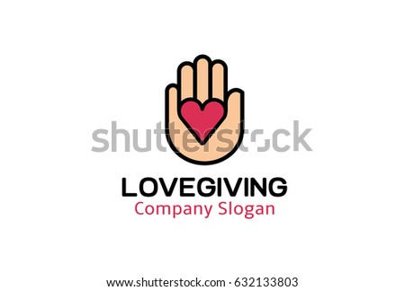 creative heart shape hand