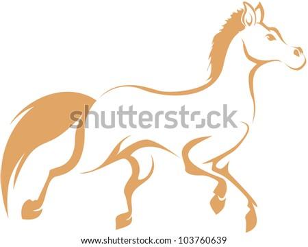 Creative Horse Illustration