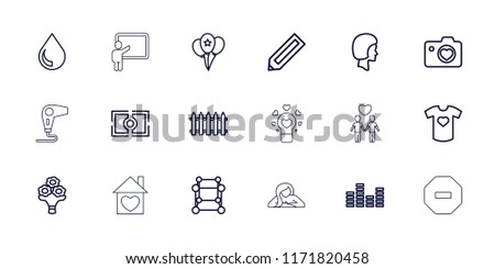 creative icon collection of 18