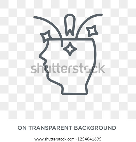 Creative icon. Creative design concept from  collection. Simple element vector illustration on transparent background.