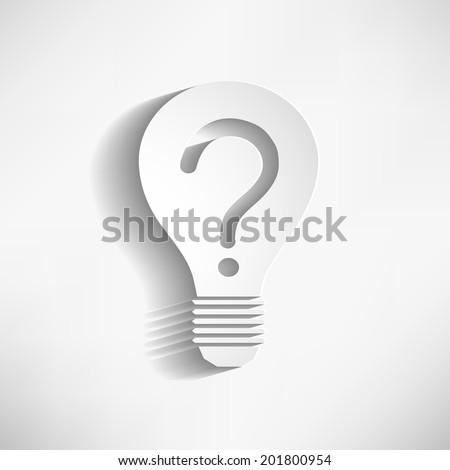 creative idea bulb vector idea
