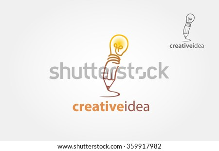 Creative Idea for mascot or logo design. Vector illustration