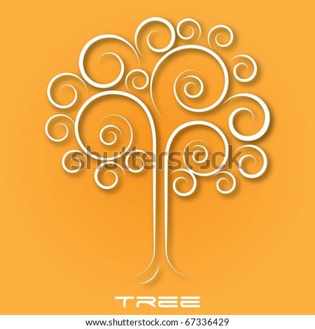 Creative Illustration Tree