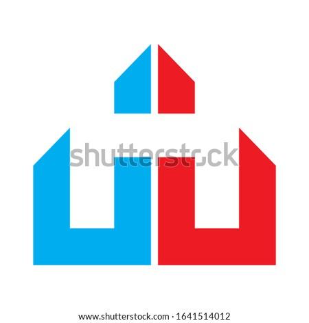 Creative JHJ logo design for financial business companies, technology companies