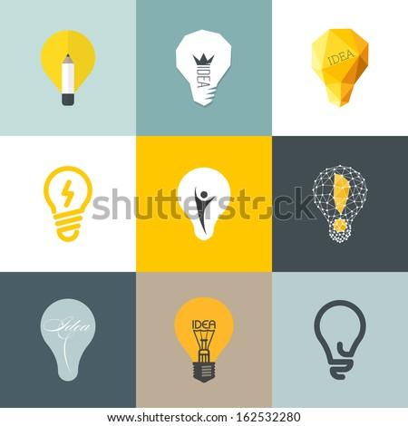creative light bulb collection