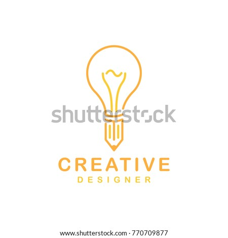 Creative Light Bulb logo