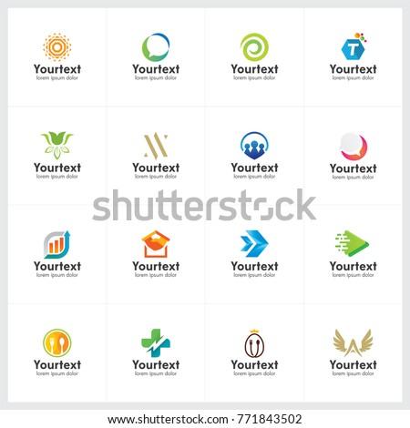 Creative logo collection, logo and icon design for business, creative vector logo template