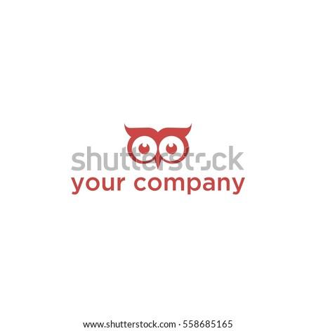 creative logo eye owl