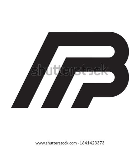 Creative MB logo design for financial business companies, technology companies